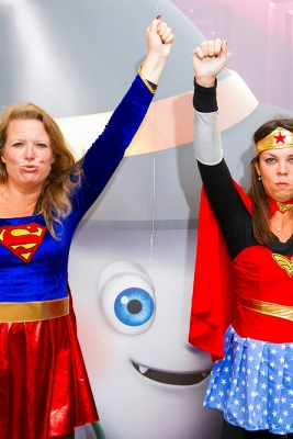 Supperwoman&Wonderwoman様